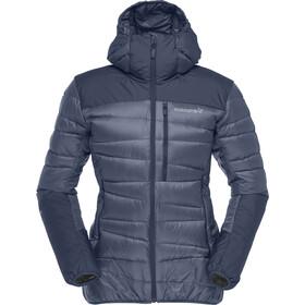 Norrøna W's Falketind 750 Down Hood Jacket Indigo Night